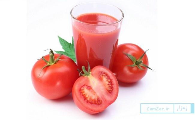 معرفی ۵ خاصیت آب گوجه فرنگی