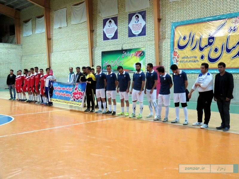افتتاحیه مسابقات فوتسال دهه فجر کرکوند