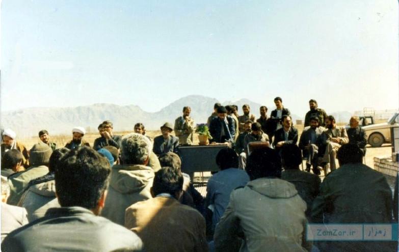 افتتاح دفتر مخابرات کرکوند سال 1366 خورشیدی