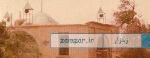 بقعه قدیمی امامزاده حلیمه خاتون شهر کرکوند
