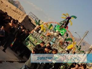 تاسوعای حسینی -1394 شهر کرکوند (4)