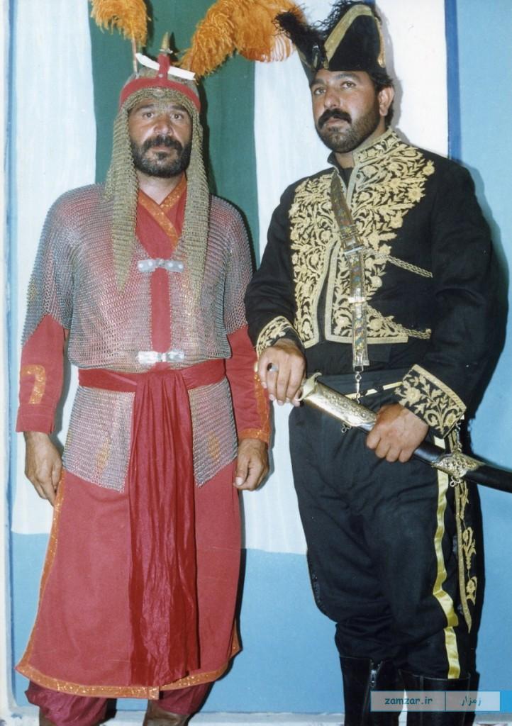 تعزیه قدیمی -دهه 70 -حسینیه کرکوند (2)