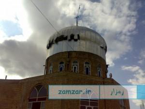 حمل ضریح امامزاده حلیمه خاتون شهر کرکوند سال 88 (13)