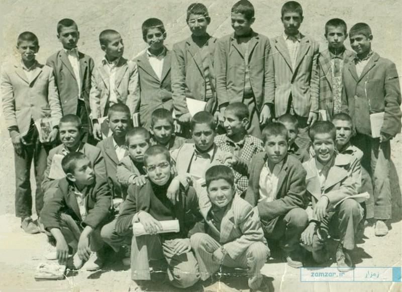 دانش آموزان ابتدایی قدیم شهر کرکوند
