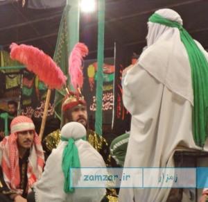 شب های تعزیه 1394 حسینیه شهر کرکوند (1)