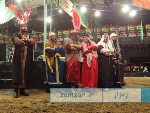 شب های تعزیه 1394 حسینیه شهر کرکوند (2)