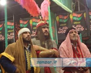 شب های تعزیه 1394 حسینیه شهر کرکوند (3)