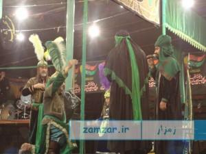 شب های تعزیه 1394 حسینیه شهر کرکوند (8)