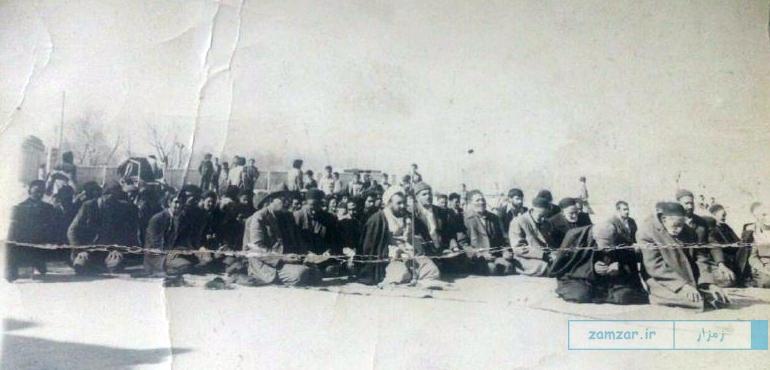 شیخ نصرالله فخامتیان و اهالی کرکوند - ارسالی بهنام اسماعیلی