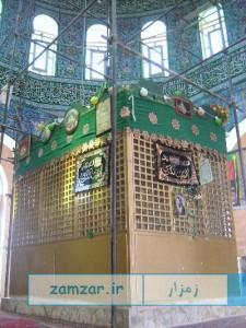 ضريح مطهر امامزاده حليمه خاتون-کرکوند