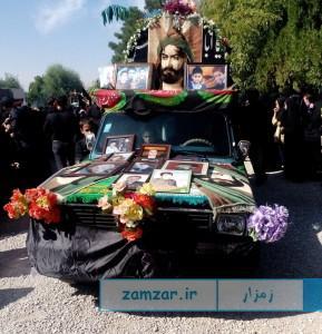 عاشورای حسینی - محرم 94- شهر کرکوند (1)