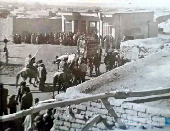 عزاداری دهه 40 کرکوند
