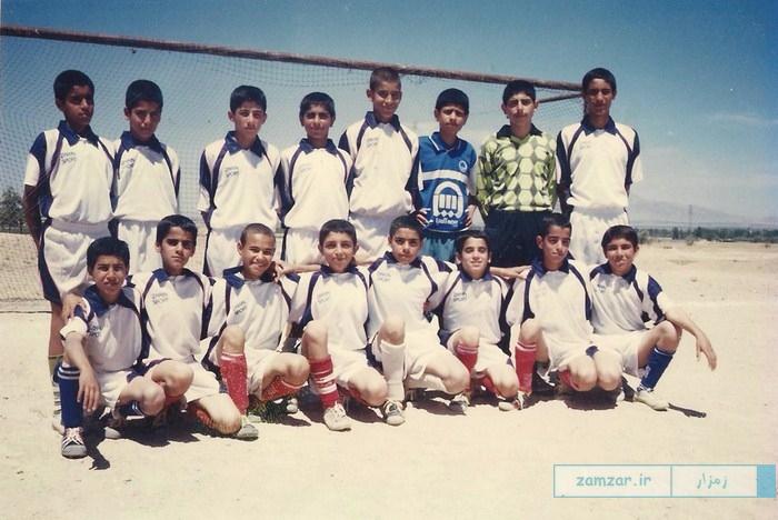 تیم فوتبال نوجوانان دهه 80 کرکوند