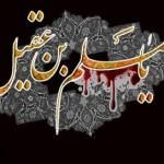 شعر شهادت حضرت مسلم بن عقیل(ع)