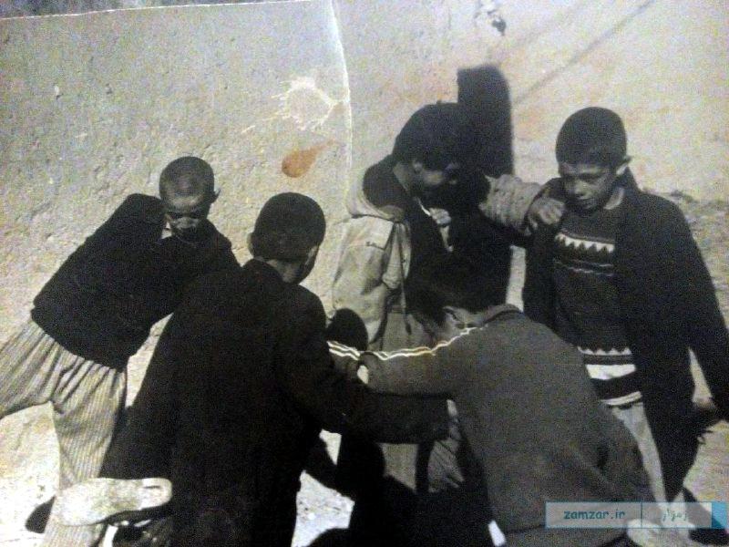کوچه مسجد جامع - سال 58