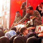 (تصاویر) استقبال از کاروان شهدای گمنام در شهر کرکوند
