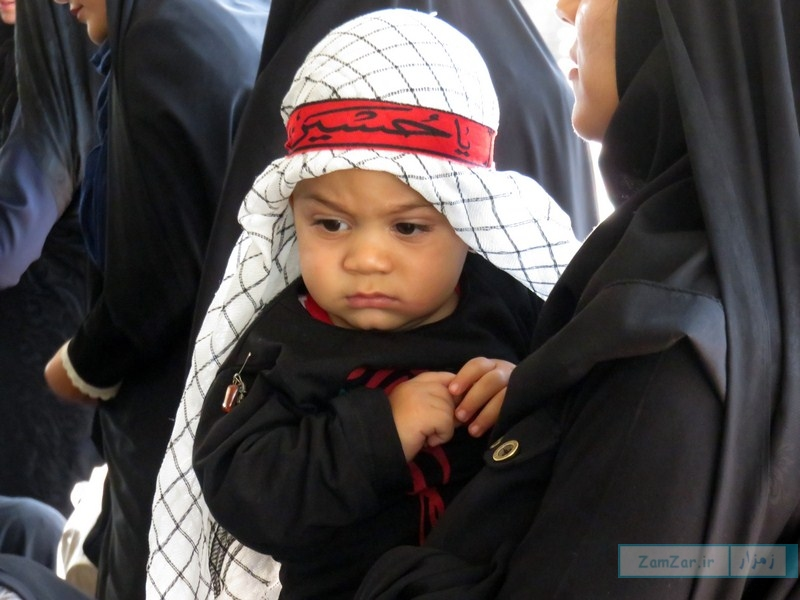 سوگواره حضرت علی اصغر (ع) محرم 96 کرکوند