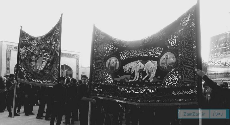 (تصاویر) تاسوعای حسینی محرم ۹۶ کرکوند