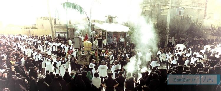 (تصاویر) عاشورای حسینی محرم ۹۶ کرکوند
