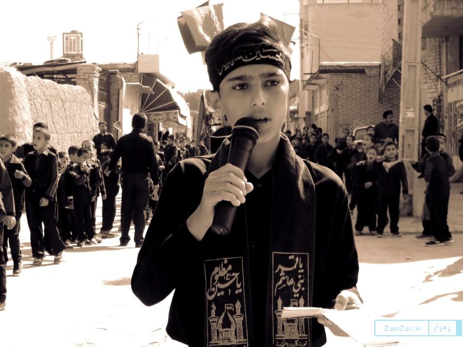 سوگواره دانشآموزی احلی من العسل دبستان امیرکبیر کرکوند