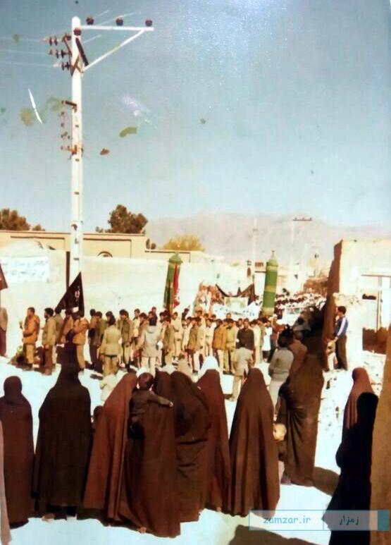 روز عاشورا سال1360 کرکوند خیابان شهدای کنونی