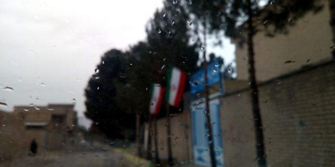 بارش اولین باران پاییزی 1395 خورشیدی در کرکوند