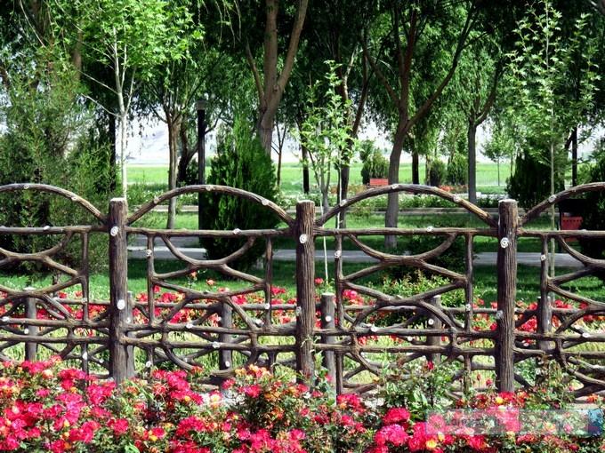 بوستان امامزاده حلیمه خاتون (س) کرکوند