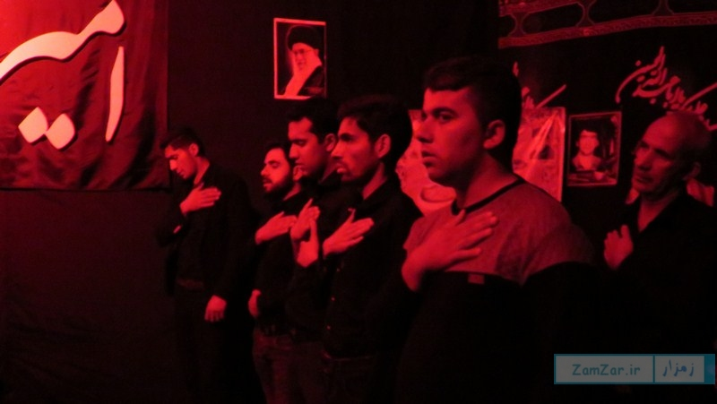 (عکس) عزاداری دهه دوم محرم امامزاده حلیمه خاتون (س) کرکوند