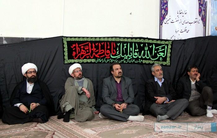 سوگواری شهادت حضرت فاطمه زهرا (س) در کرکوند