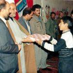 (عکس) جشن دهه فجر ۱۳۷۳ کرکوند با حضور فرماندار مبارکه