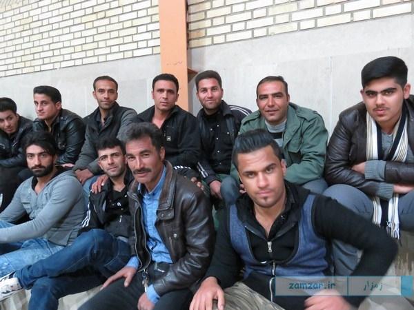 افتتاحیه مسابقات فوتسال دهه فجر ۹۴ کرکوند