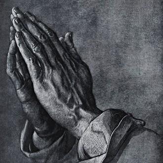 دست های دعا کننده