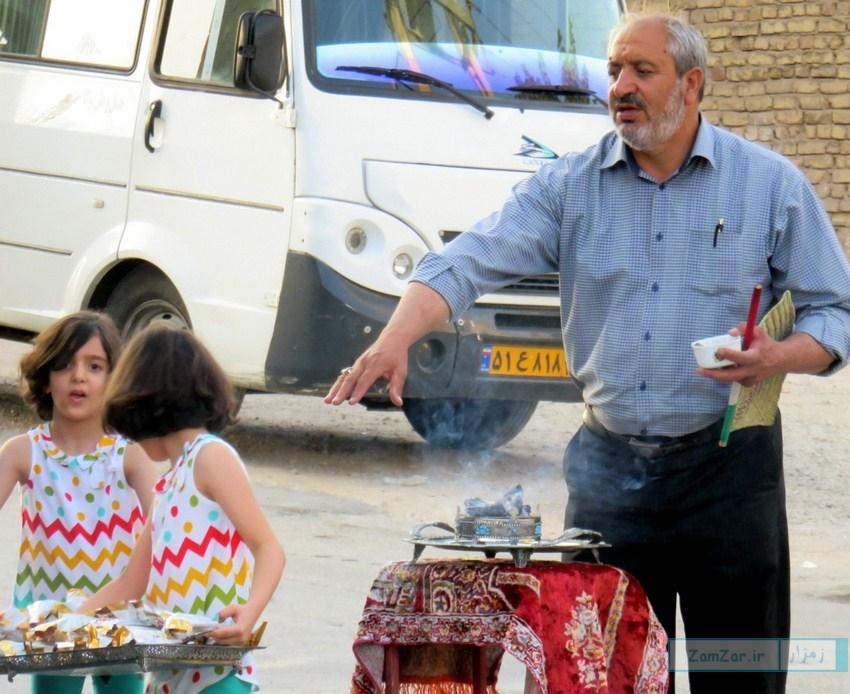 قافله شادی و سرور کرکوندی ها به مناسبت عید غدیر خم