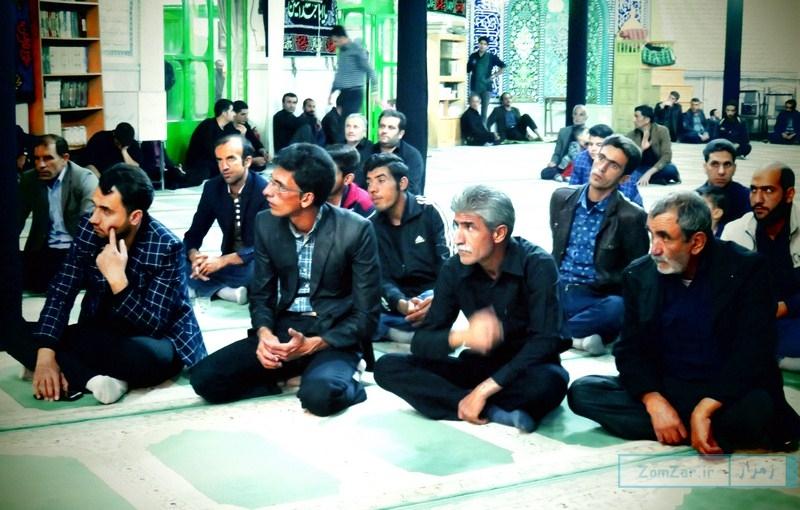 عزاداری دهه دوم محرم مسجد جامع کرکوند