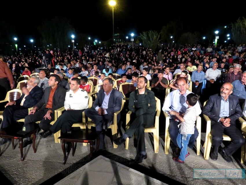 جشن ولادت امام رضا (ع) در شهر کرکوند