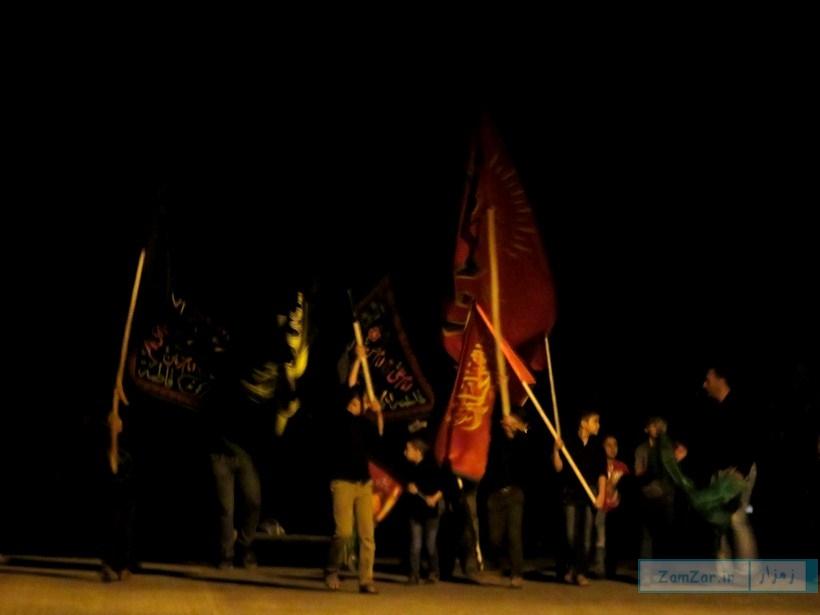 برگزاری مراسم ندای محرم 96 شهر کرکوند