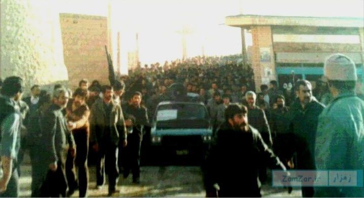 (عکس) اولین حضور هیئت شیرازی ها در کرکوند