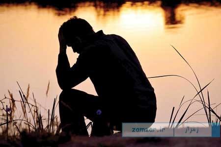 افسرده و غمگین