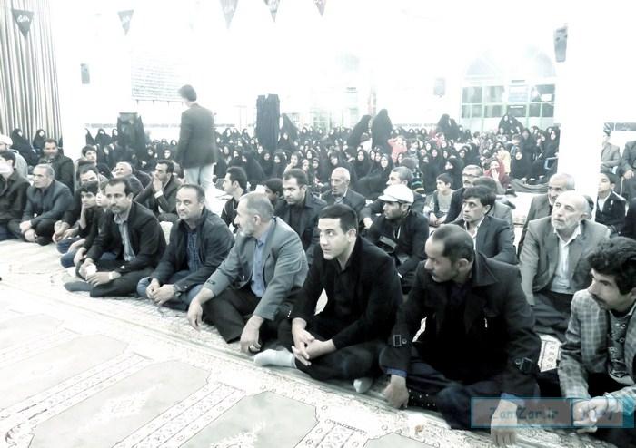 عزاداری ویژه شهادت رقیه خاتون (س) در حرم امامزاده حلیمه خاتون (س) شهر کرکوند