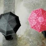 اس ام اس های عاشقانه روز بارانی