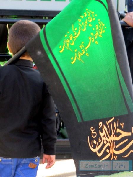 عزاداری روز سوم شهادت امام حسین(ع) محرم 95 کرکوند