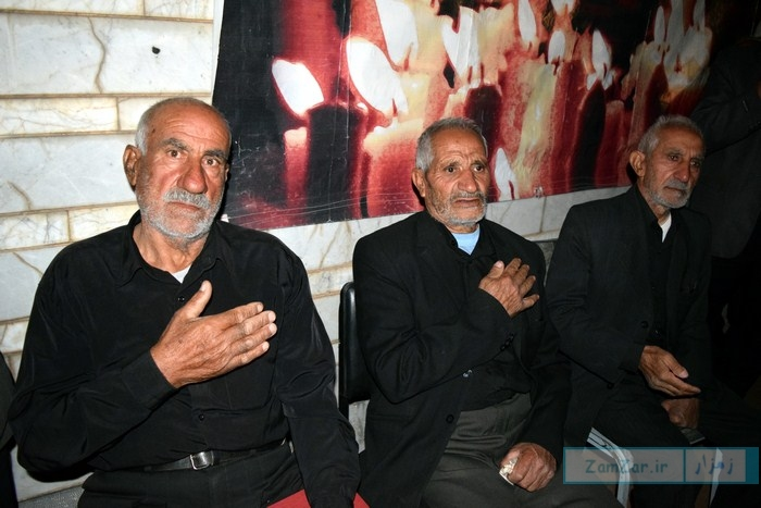 عزاداری شام غریبان سیدالشهداء (ع) محرم 95 کرکوند