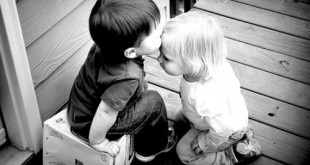 بوسه عاشقانه