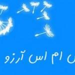پیامک با موضوع آرزو