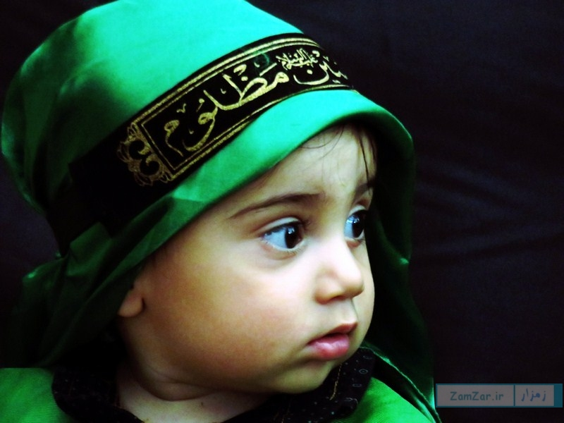 (تصاویر) سوگواره حضرت علی اصغر (ع) محرم ۹۶ کرکوند