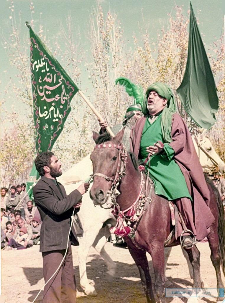 تعزیه های قدیمی اجرا شده در امامزاده حلیمه خاتون(س)