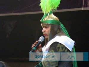 مراسم تعزیه خوانی حضرت علی اکبر (ع) - امامزاده حلیمه خاتون شهر کرکوند
