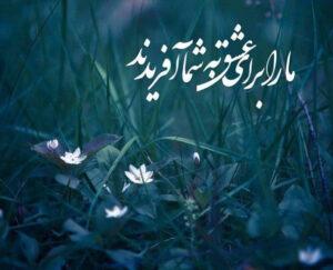 امام زمان-عکس نوشته