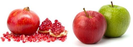 خواص انار و سیب