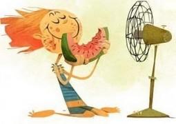 تابستان داغ و گرم